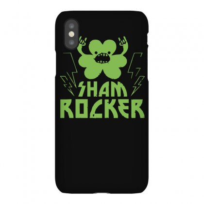 Sham Rocker Shamrock Iphonex Case Designed By Ruliyanti