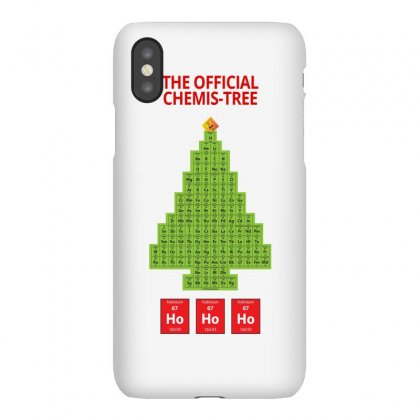 Oh Chemist Tree Ugly Christmas Iphonex Case Designed By Hose White