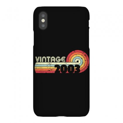 16th Birthday Gift T Shirt. Classic, Vintage 2003 Shirt. Iphonex Case Designed By Cuser1744