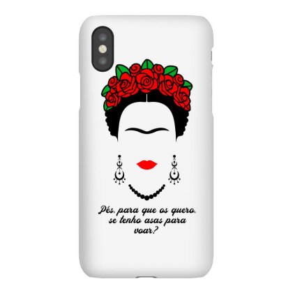 Frida Kahlo With Roses Iphonex Case Designed By Honeysuckle