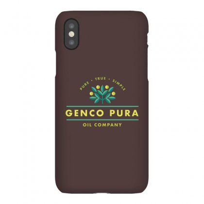 Genco Olive Oil Co Iphonex Case Designed By Hose White
