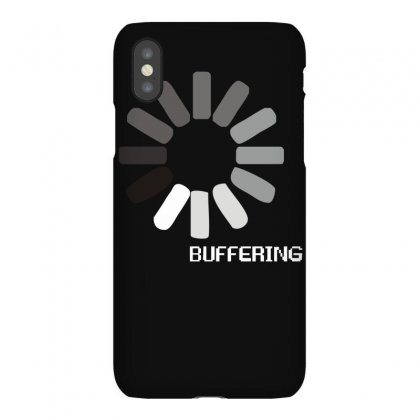 Buffering  Funny Retro Loading Computer Console Fashion Party Iphonex Case Designed By Ruliyanti