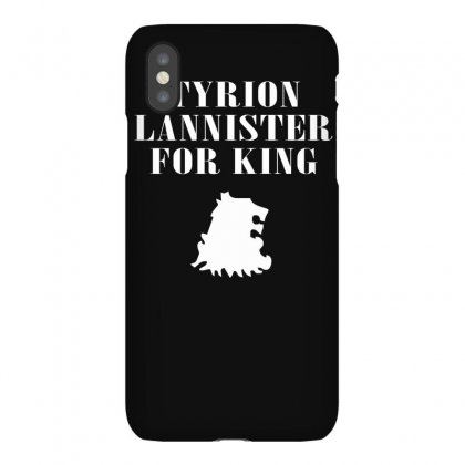Tyrion Lannister For King Iphonex Case Designed By Ruliyanti