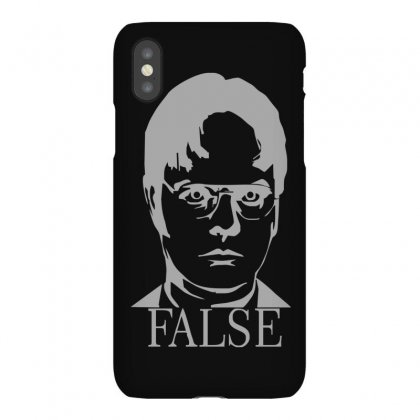 Dwight Schrute 'false' The Office Iphonex Case Designed By Ruliyanti