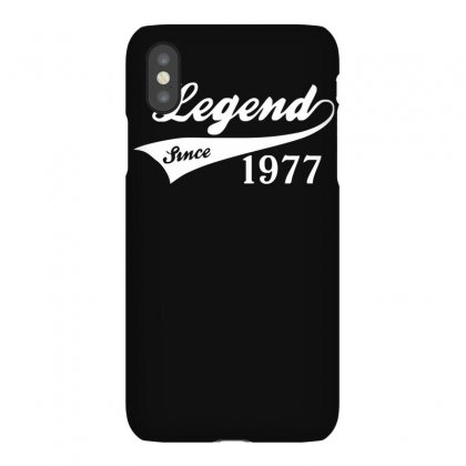 Legend Since 1977, Funny Iphonex Case Designed By Ruliyanti