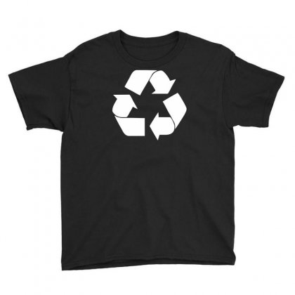 Recycle Symbol Youth Tee Designed By Ruliyanti