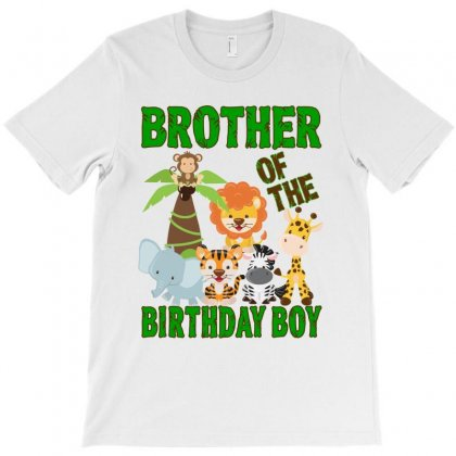 Jungle Design For Baby Boy Brother T-shirt Designed By Sengul