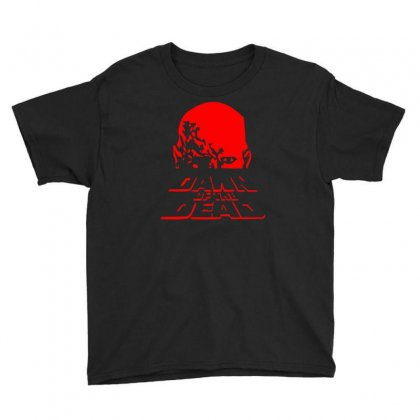 Dawn Of The Dead Retro 70s Horror Zombie Film Youth Tee Designed By Ruliyanti