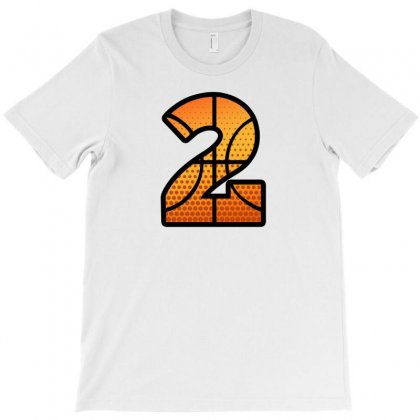 Basketball Number Two T-shirt Designed By Sengul