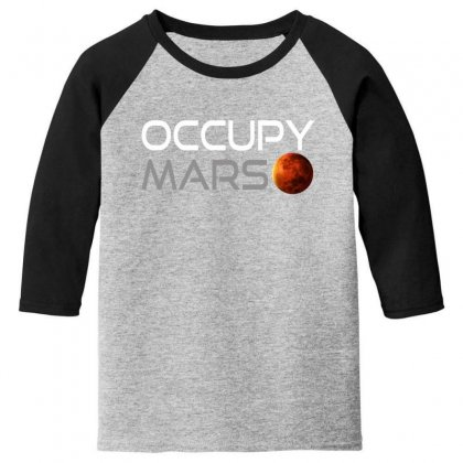 Occupy Mars For Dark Youth 3/4 Sleeve Designed By Gurkan