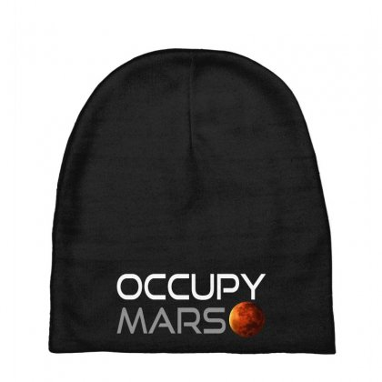 Occupy Mars For Dark Baby Beanies Designed By Gurkan