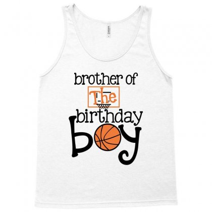 Brother Of The Birthday Boy For Light Tank Top Designed By Sengul