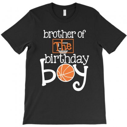 Brother Of The Birthday Boy For Dark T-shirt Designed By Sengul