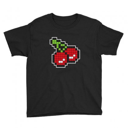 8 Bit Cherry Youth Tee Designed By Sr88