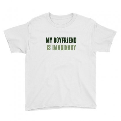 My Boyfriend Is Imaginary Youth Tee Designed By Chris Ceconello