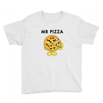 Mr Pizza Youth Tee Designed By Sr88