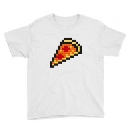 Pixel Pizza Youth Tee Designed By Sr88
