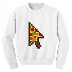 pizza cursor Youth Sweatshirt | Artistshot