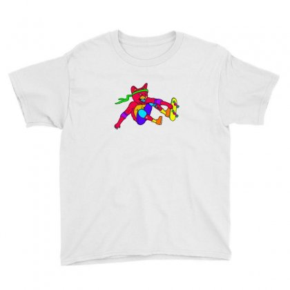 Skate Cat Youth Tee Designed By Sr88
