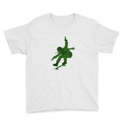 Skate Soldier Youth Tee Designed By Sr88