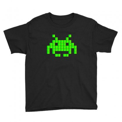 Space Invaders Youth Tee Designed By Sr88
