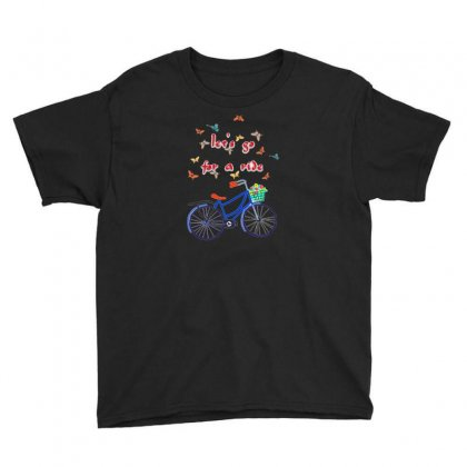 Take A Ride Youth Tee Designed By Nouran
