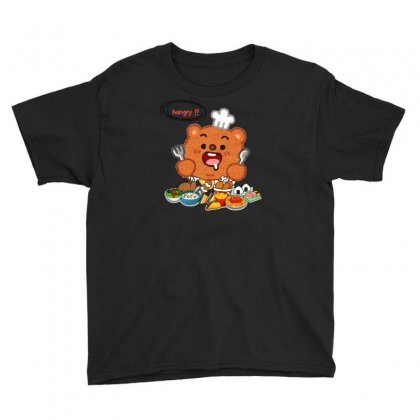 Hungry Youth Tee Designed By Nouran