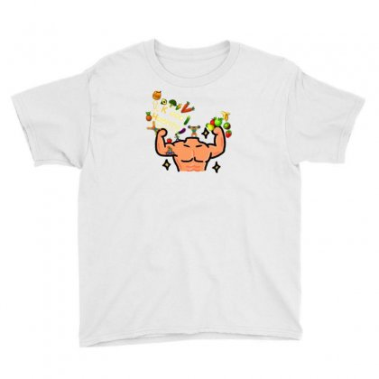 Keep Healthy Youth Tee Designed By Nouran