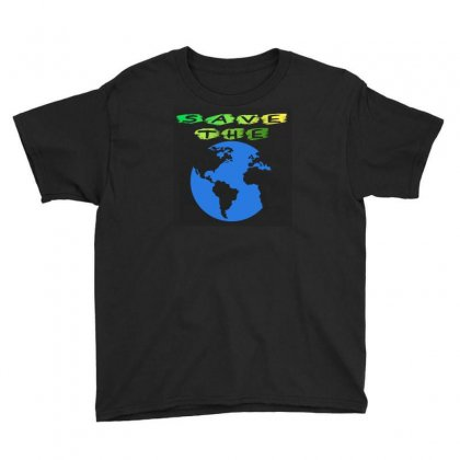 Save Earth Youth Tee Designed By Jcboiii2020
