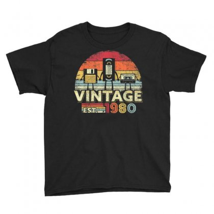 1980 Shirt. Vintage Birthday Gift, Funny Music, Tech Humor T Shirt Youth Tee Designed By Cuser1744