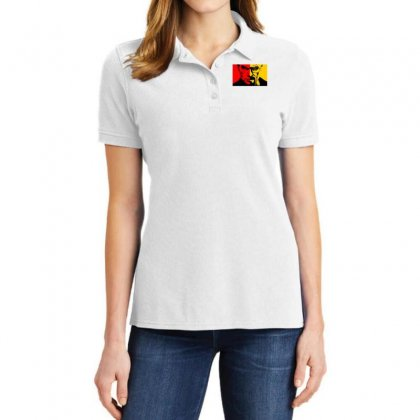 Heisenberg Vs Dexter Ladies Polo Shirt Designed By Toldo