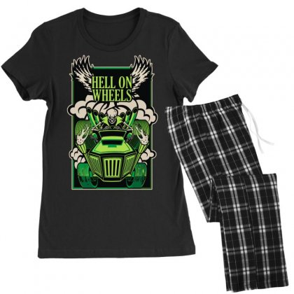 Hell On Wheels Version Two Women's Pajamas Set Designed By Toldo