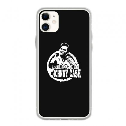 Hello I'm Johnny Cash Iphone 11 Case Designed By Toldo