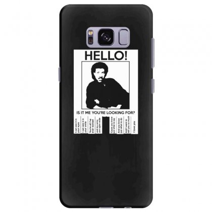 Hello Is It Me You're Looking For (2) Samsung Galaxy S8 Plus Case Designed By Toldo