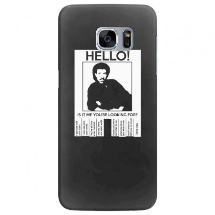 Hello Is It Me You're Looking For (2) Samsung Galaxy S7 Edge Case Designed By Toldo