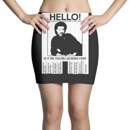 Hello Is It Me You're Looking For (2) Mini Skirts Designed By Toldo