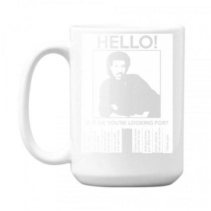 Hello Is It Me You're Looking For (2) 15 Oz Coffe Mug Designed By Toldo
