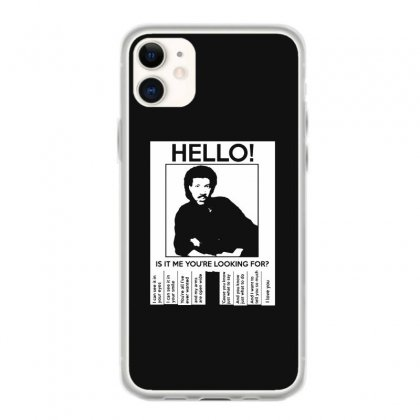 Hello Is It Me You're Looking For (2) Iphone 11 Case Designed By Toldo