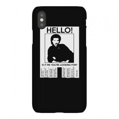 Hello Is It Me You're Looking For Iphonex Case Designed By Toldo