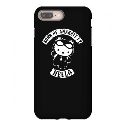 Hello Kitty Sons Of Anarchy Mashup Funny Iphone 8 Plus Case Designed By Toldo