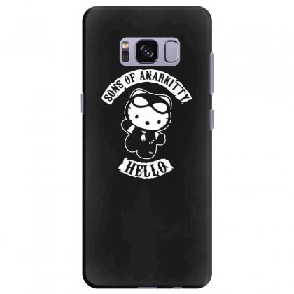 Hello Kitty Sons Of Anarchy Mashup Funny Samsung Galaxy S8 Plus Case Designed By Toldo