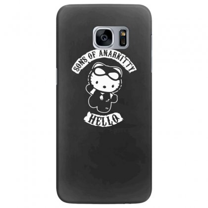 Hello Kitty Sons Of Anarchy Mashup Funny Samsung Galaxy S7 Edge Case Designed By Toldo