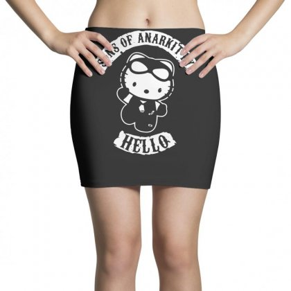 Hello Kitty Sons Of Anarchy Mashup Funny Mini Skirts Designed By Toldo