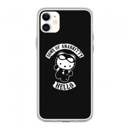 Hello Kitty Sons Of Anarchy Mashup Funny Iphone 11 Case Designed By Toldo