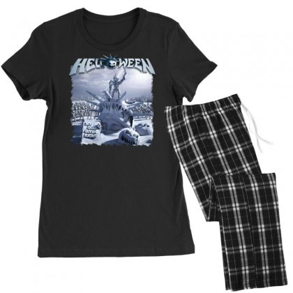 Helloween 2015 My God Given Right Women's Pajamas Set Designed By Toldo