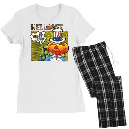 Helloween I Want Out Women's Pajamas Set Designed By Toldo