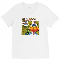 helloween i want out V-Neck Tee   Artistshot