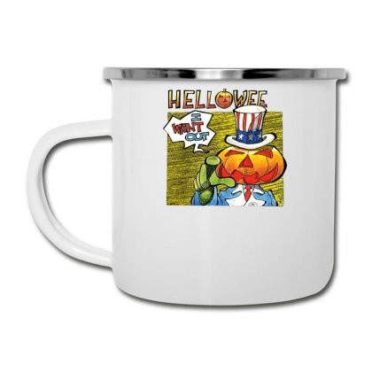 Helloween I Want Out Camper Cup Designed By Toldo