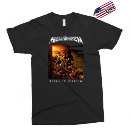 Helloween Walls Of Jericho Exclusive T-shirt Designed By Toldo