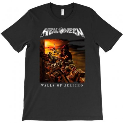 Helloween Walls Of Jericho T-shirt Designed By Toldo